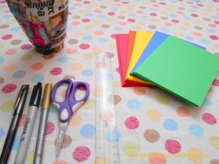 Crayola DIY invitations
