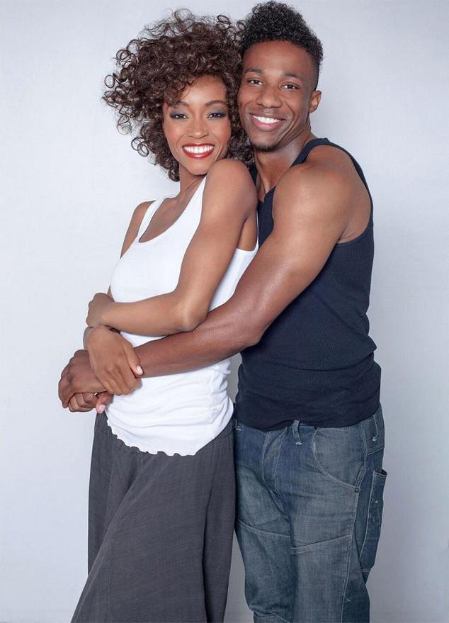 Yaya as Whitney Houston picture via EOnline!