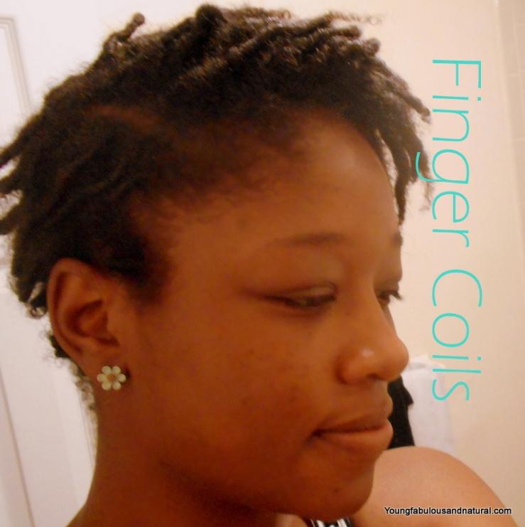 Finger Coils 4C Tapered Natural Hair