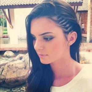 Kendall-Jenner-Instagram-Corn-Rows-492x492
