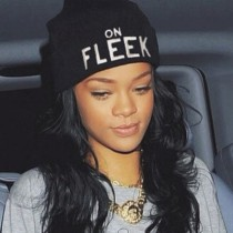 Rihanna-On-Fleek-Hat