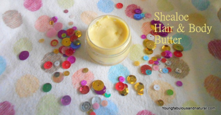 Shealoe hair and body butter