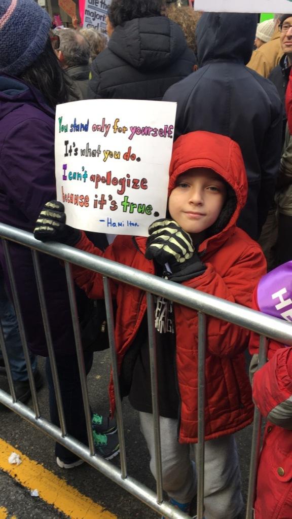 Women's March NY