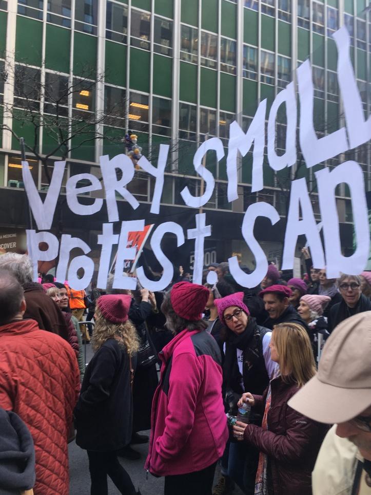 Woman's March NY